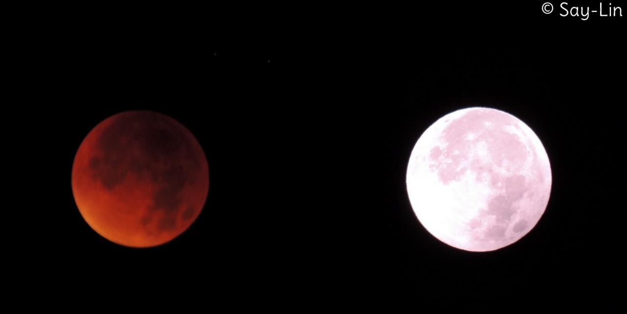 Super Lune + Lune rousse
