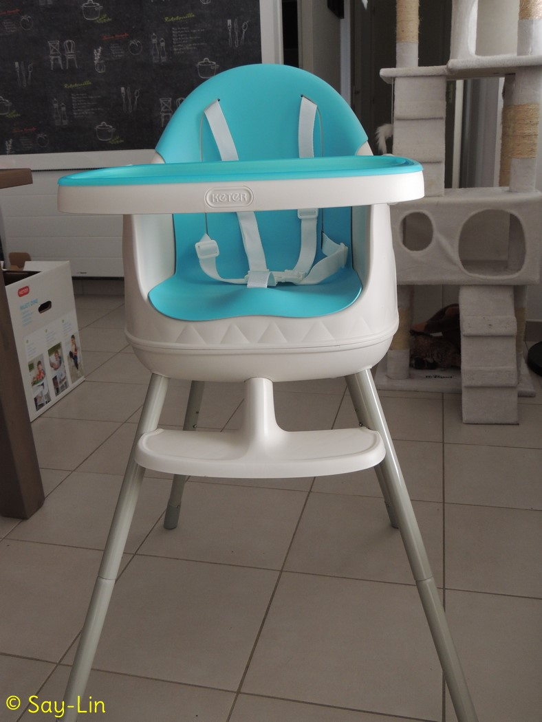 Chaise haute baby to love for Baby to love chaise nomade